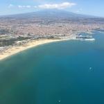 Catania air view