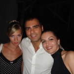 bed e breakfast Catania Sicily Globetrotter patying with guests