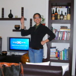 Carla, friends of the bed and breakfast Catania Globetrotter