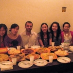 chinese dinner at the B&B Catania Globetrotter
