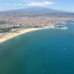 Catania air view