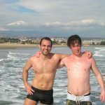 guest of B&B Catania swimming in winter
