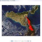 Sicily from satellite