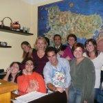 students of italian school in Catania Sicily