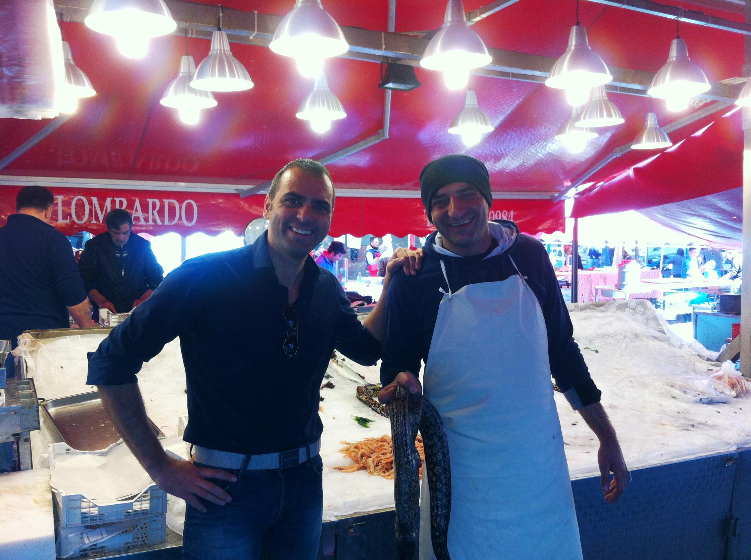 Il mercato del pesce a Catania