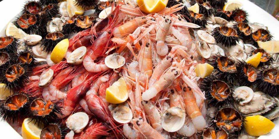 frutti di mare, catania