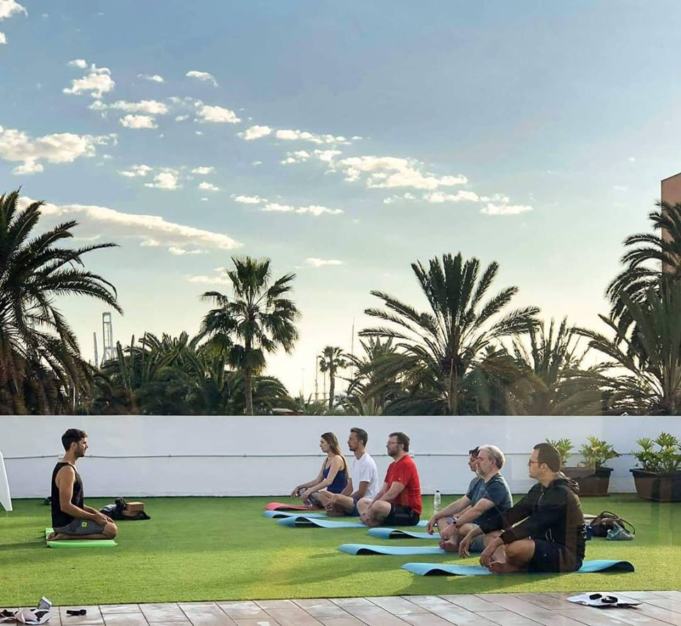 yoga in coliving catania
